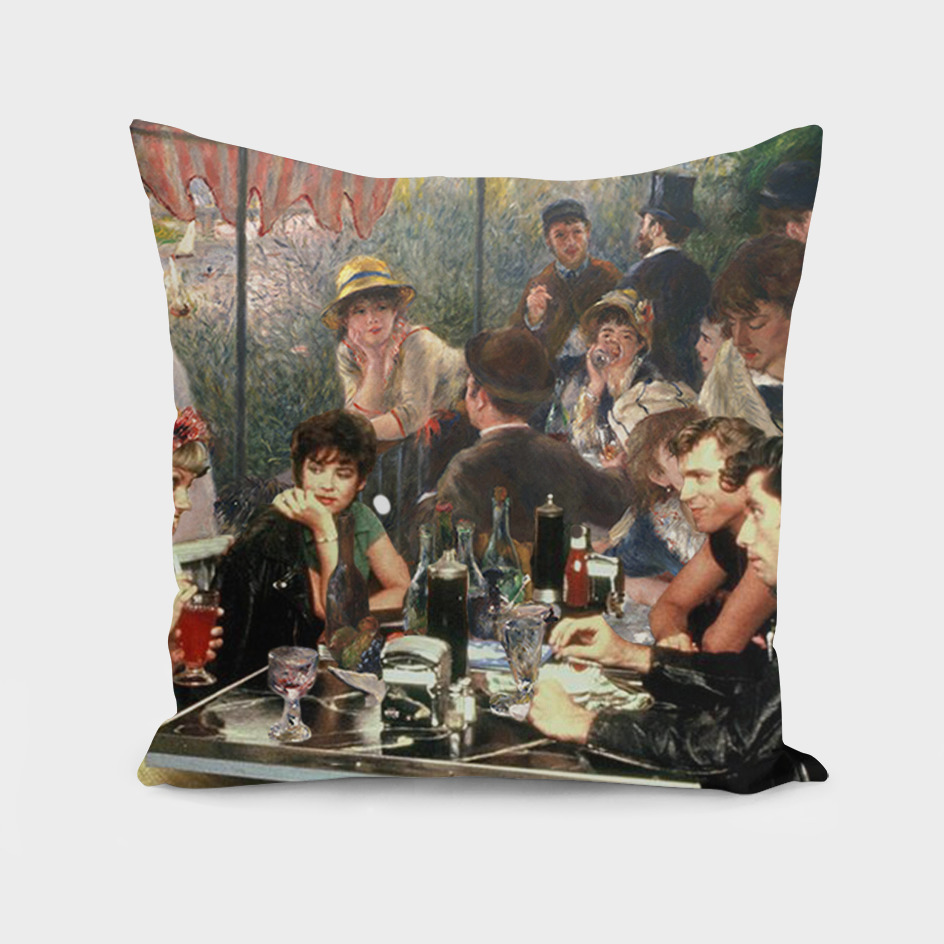 Renoir's Luncheon of the Boating Party & Grease