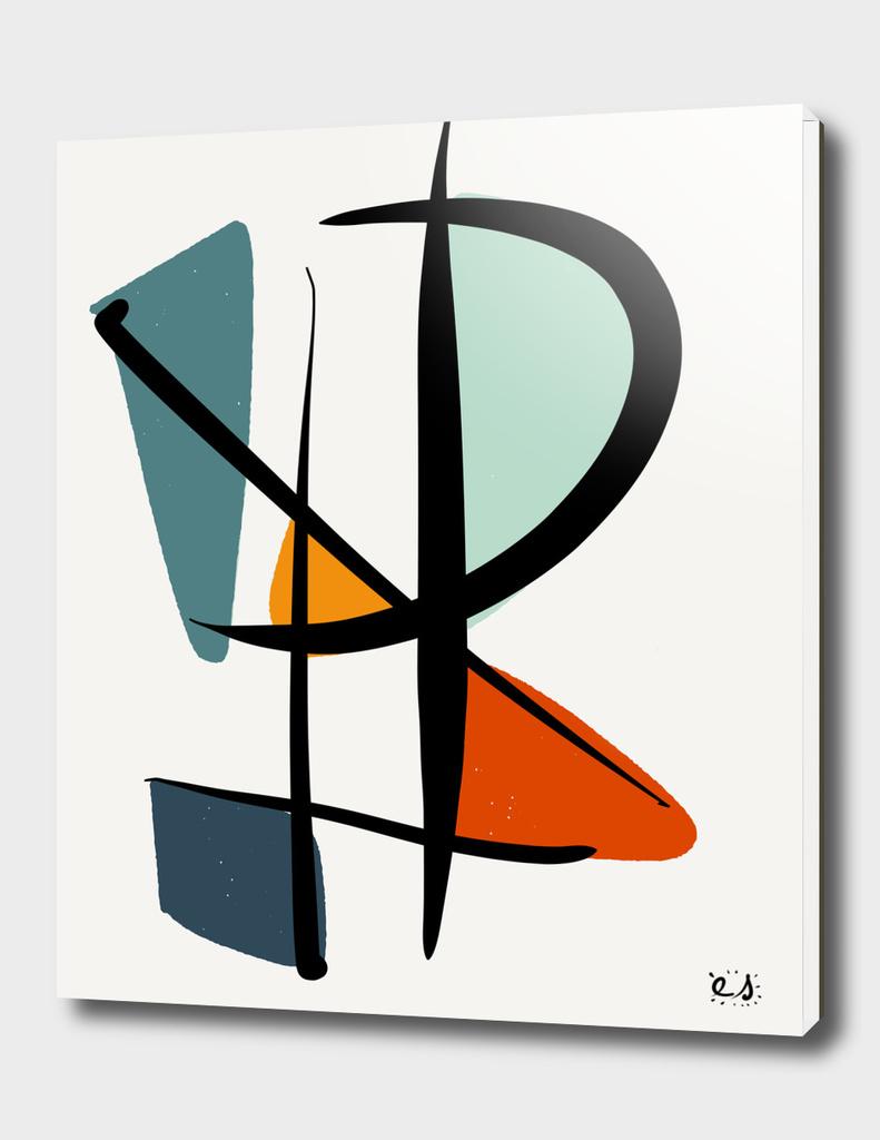 Abstract Minimal Zen Art