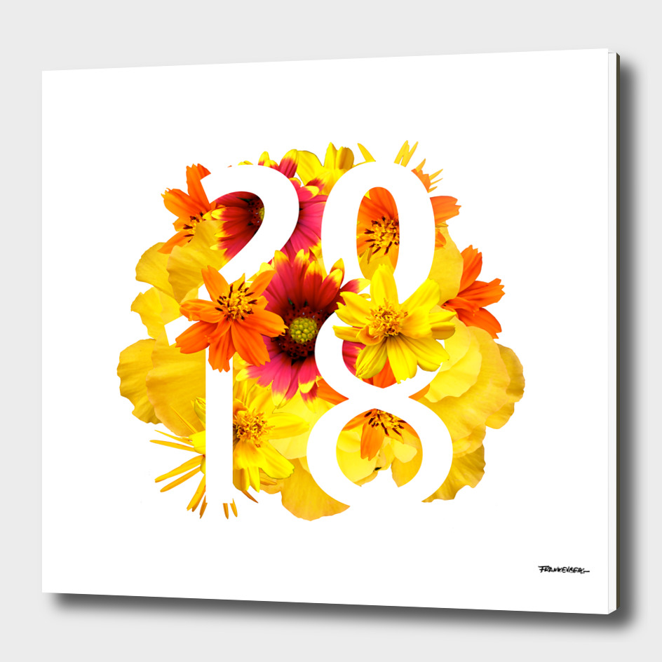 Flower Yellow 2018 - Notebooks & more