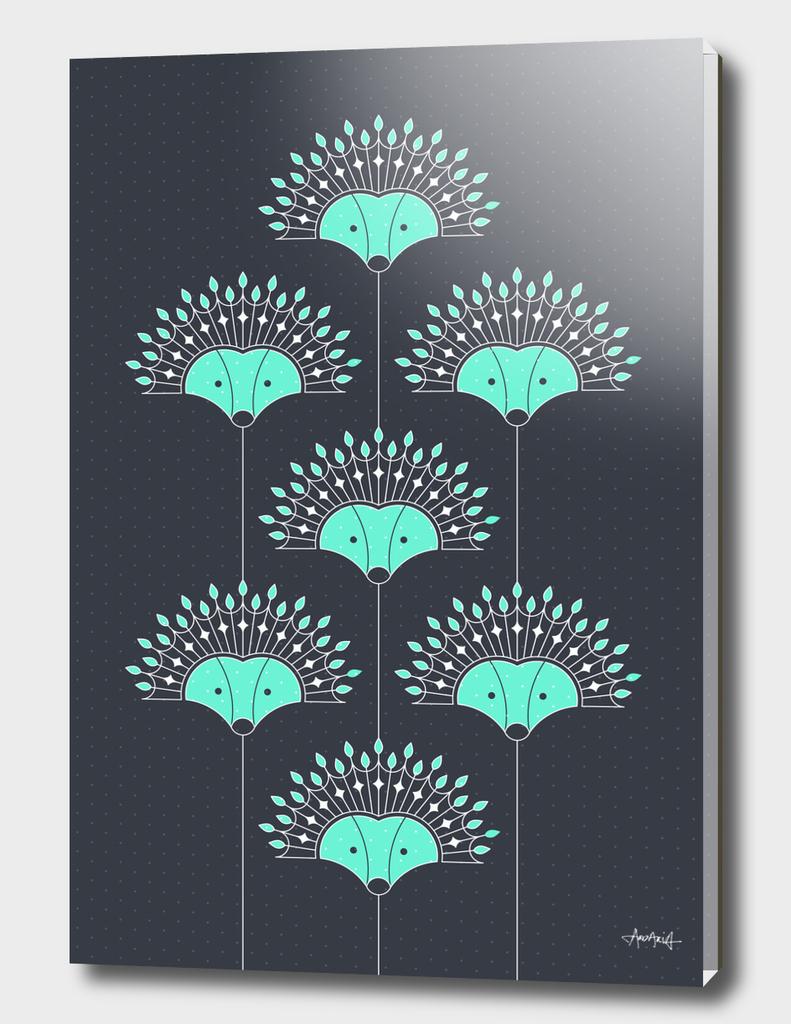 Hedgehog Fan