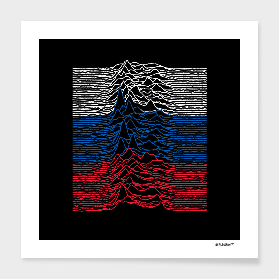 An Unknown Joy from the Pleasures Division - Russia Remix