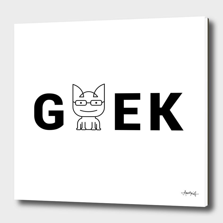 Cat Geek Mode