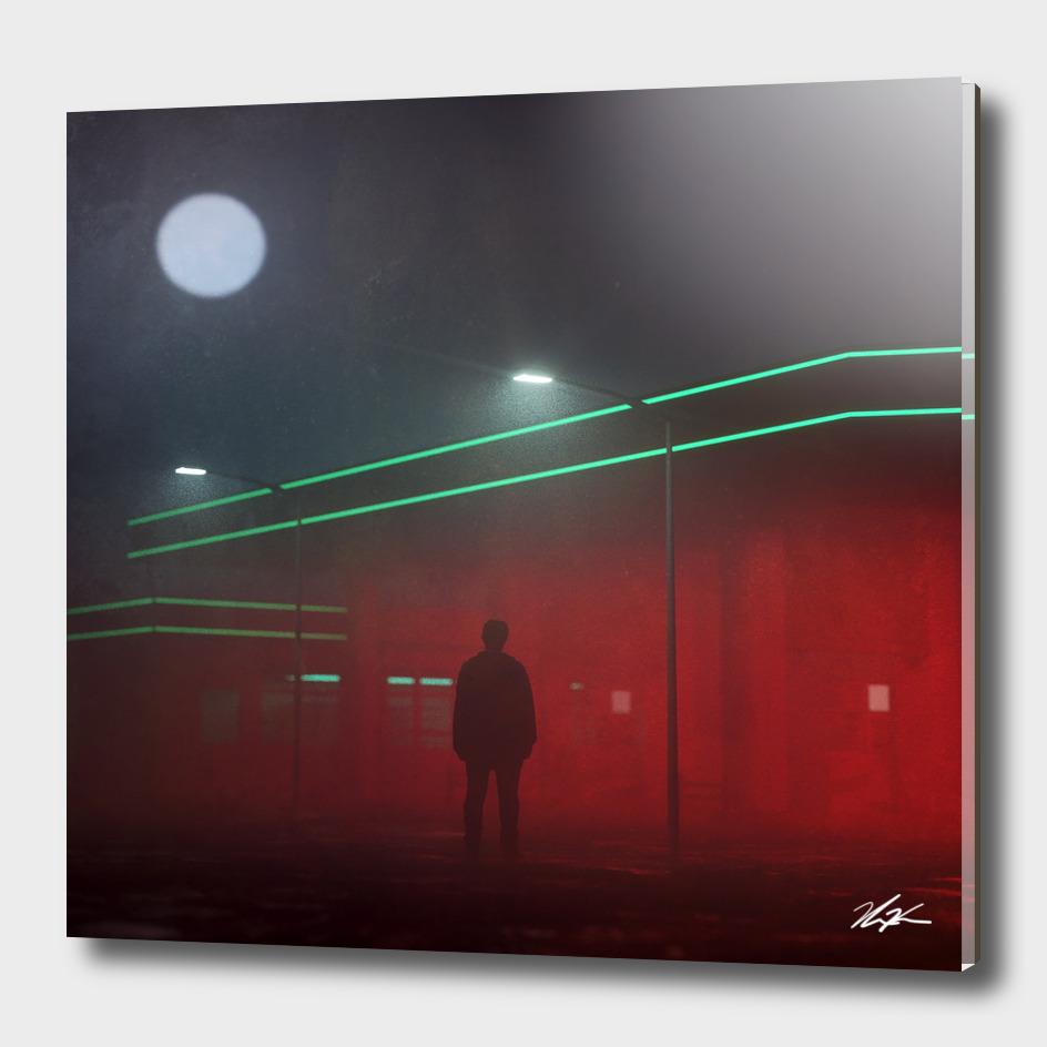 Gas Station Fog