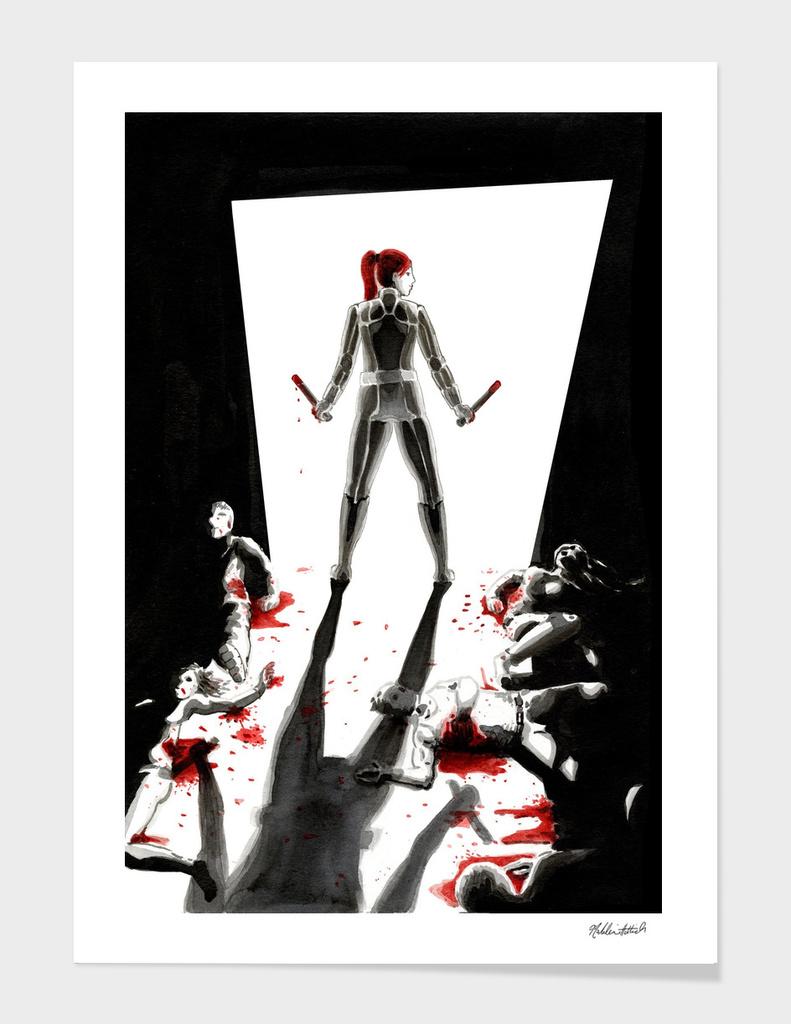 Black Widow Fan Illustration 2