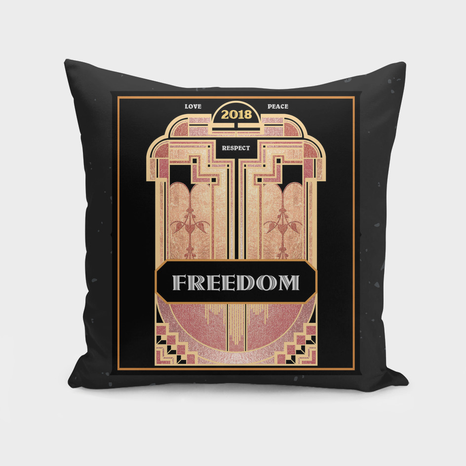 Art Deco FREEDOM 2018 – Notebooks & more
