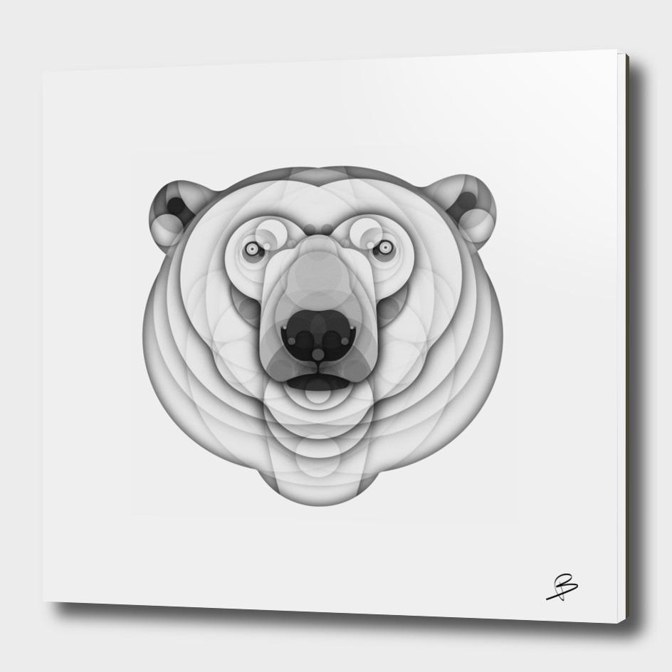 Silver Polar Bear