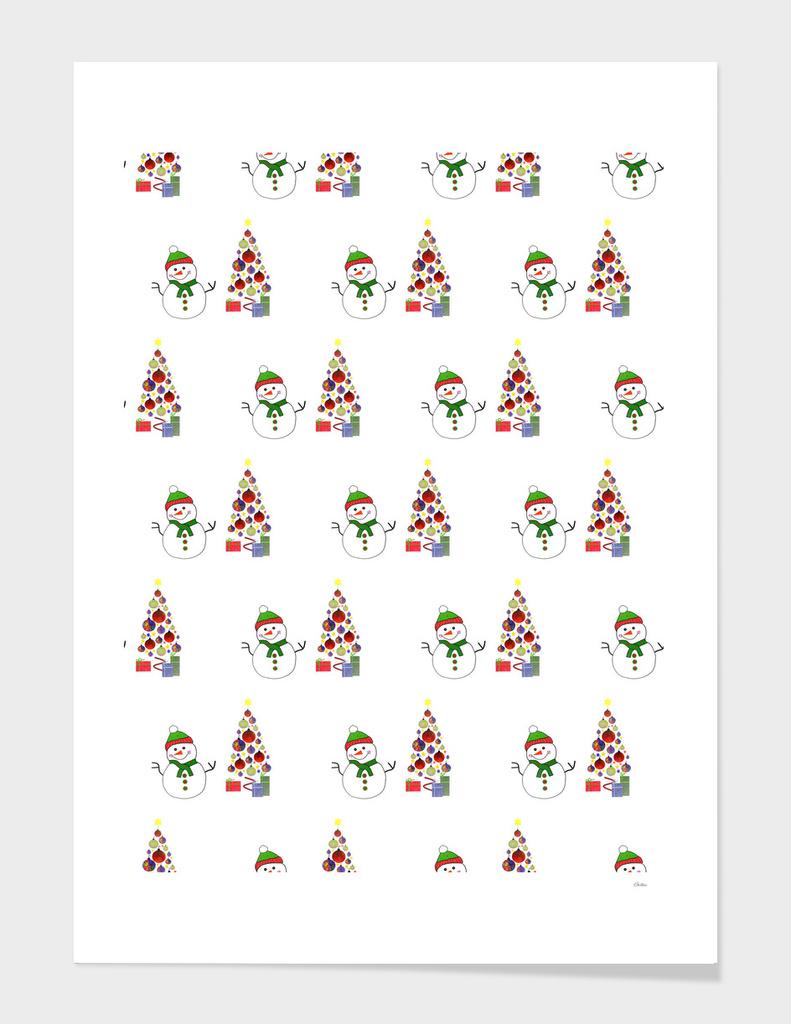 Festive Christmas Pattern