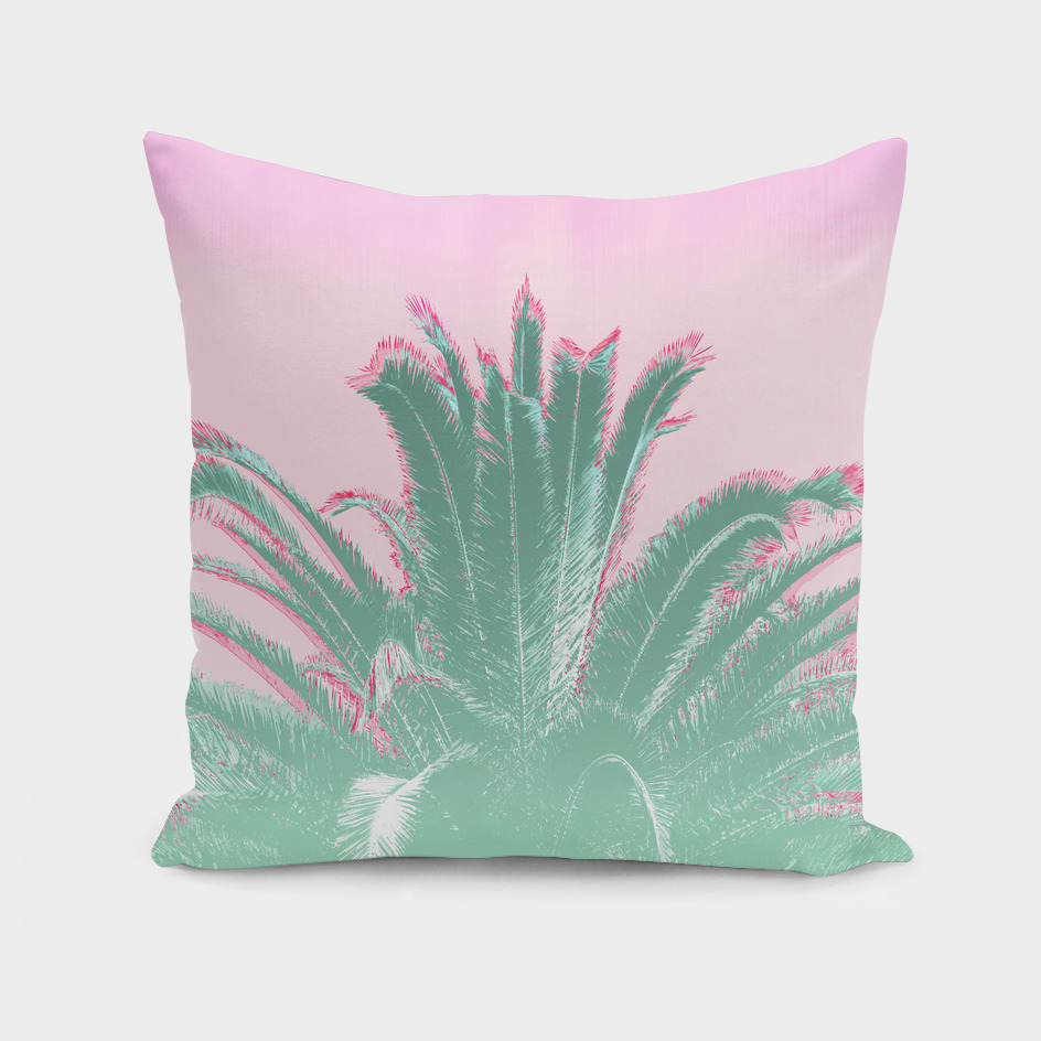 Palm Tree Leaves Tropical Vibes Design