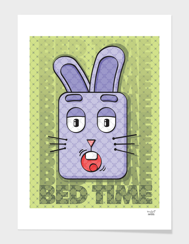 Rabbit Bed Time