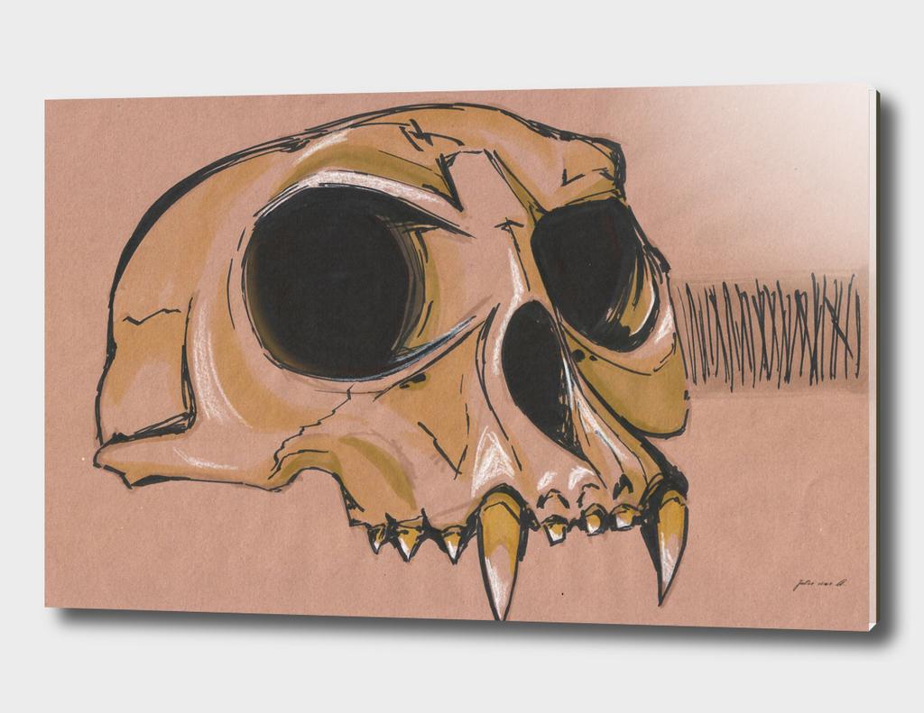 Monk Skull