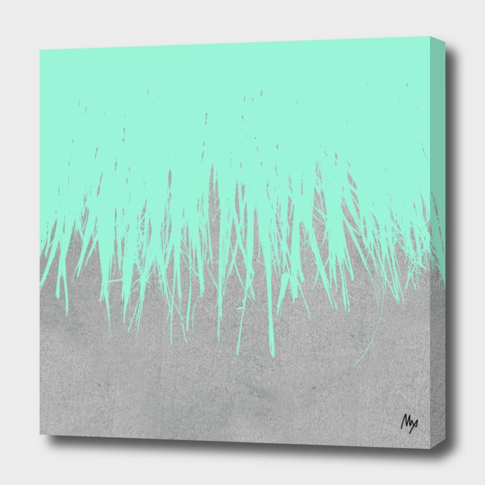 Concrete Fringe Mint