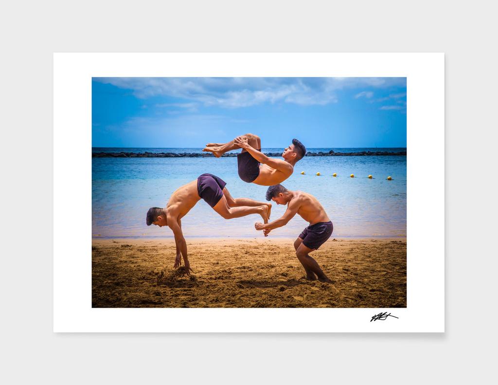 Martial arts tricking 6