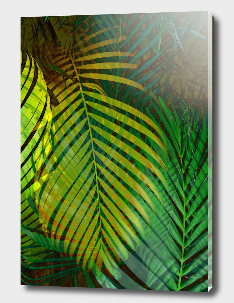 TROPICAL GREENERY LEAVES II