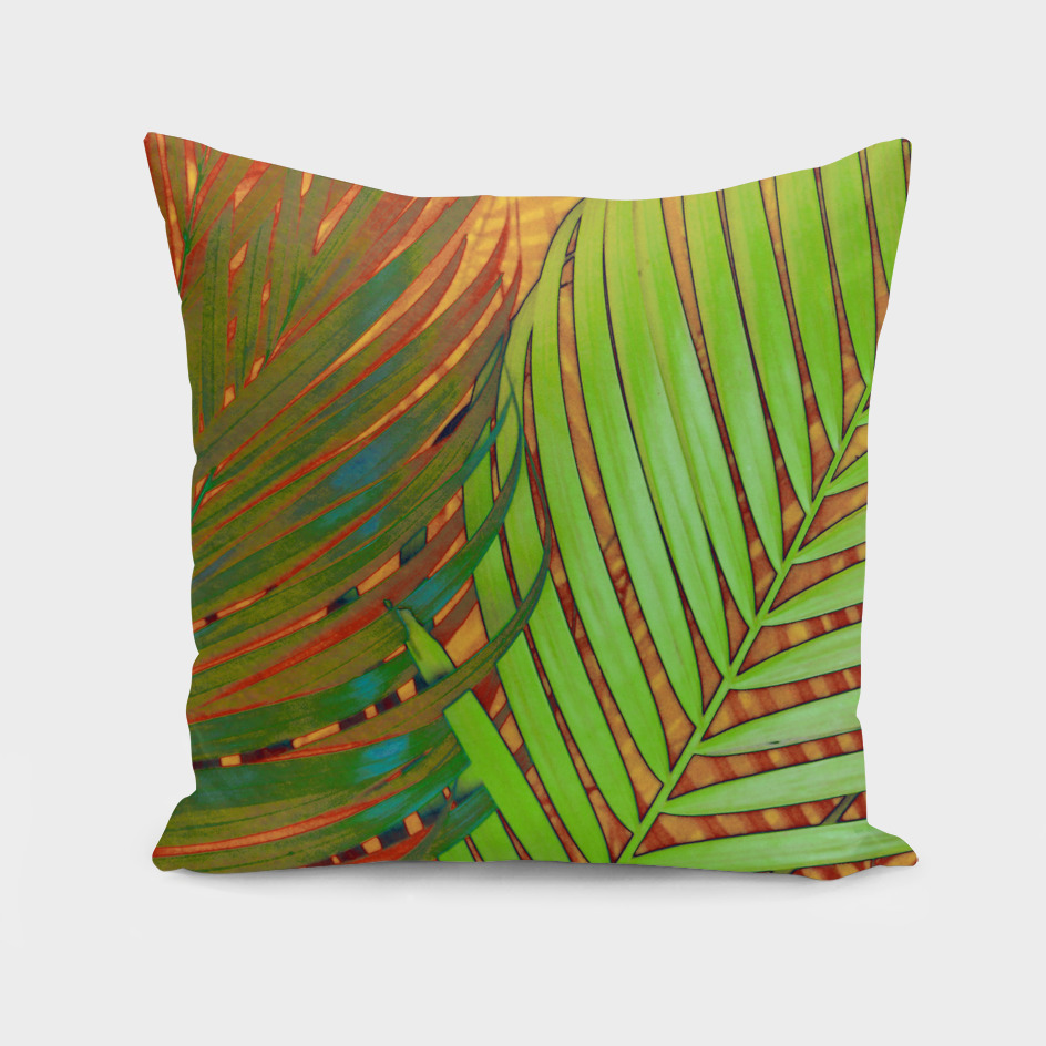 TROPICAL LEAVES POP-ART no5a