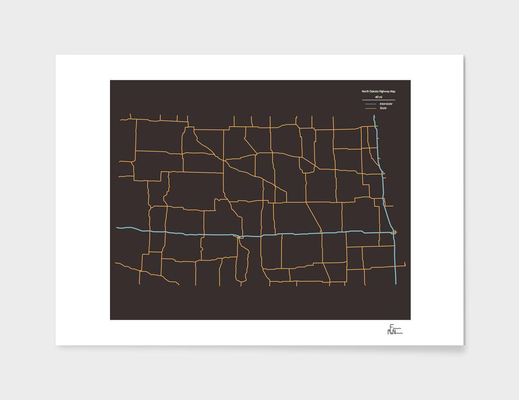 North Dakota Highways