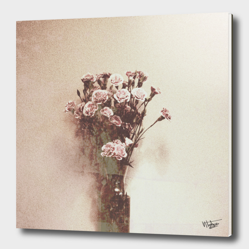Abstract Vintage Flowers