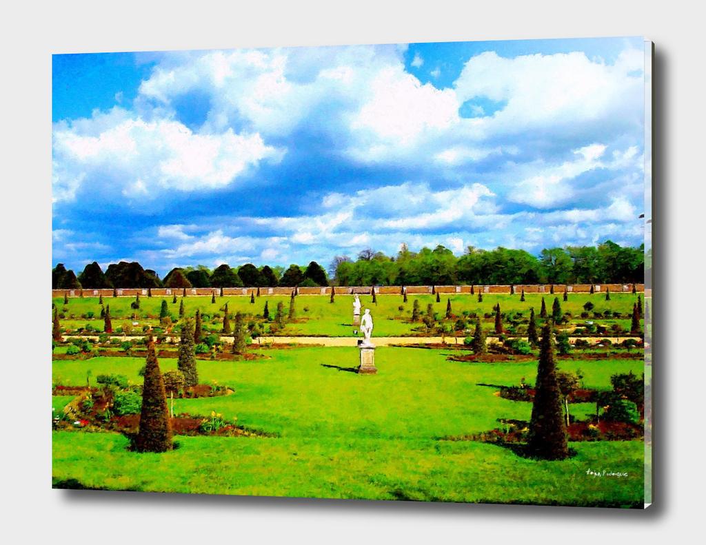 Gardens at Hampton Court