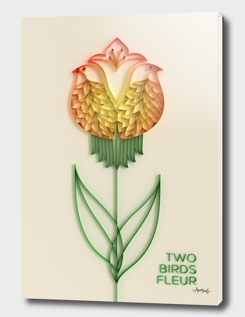 Two Birds Fleur