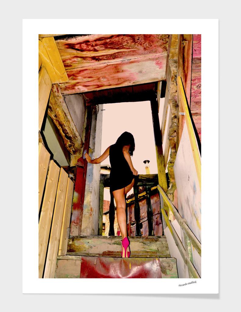 Scendo le scale