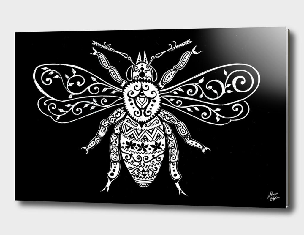Vintage Ornate  Bee