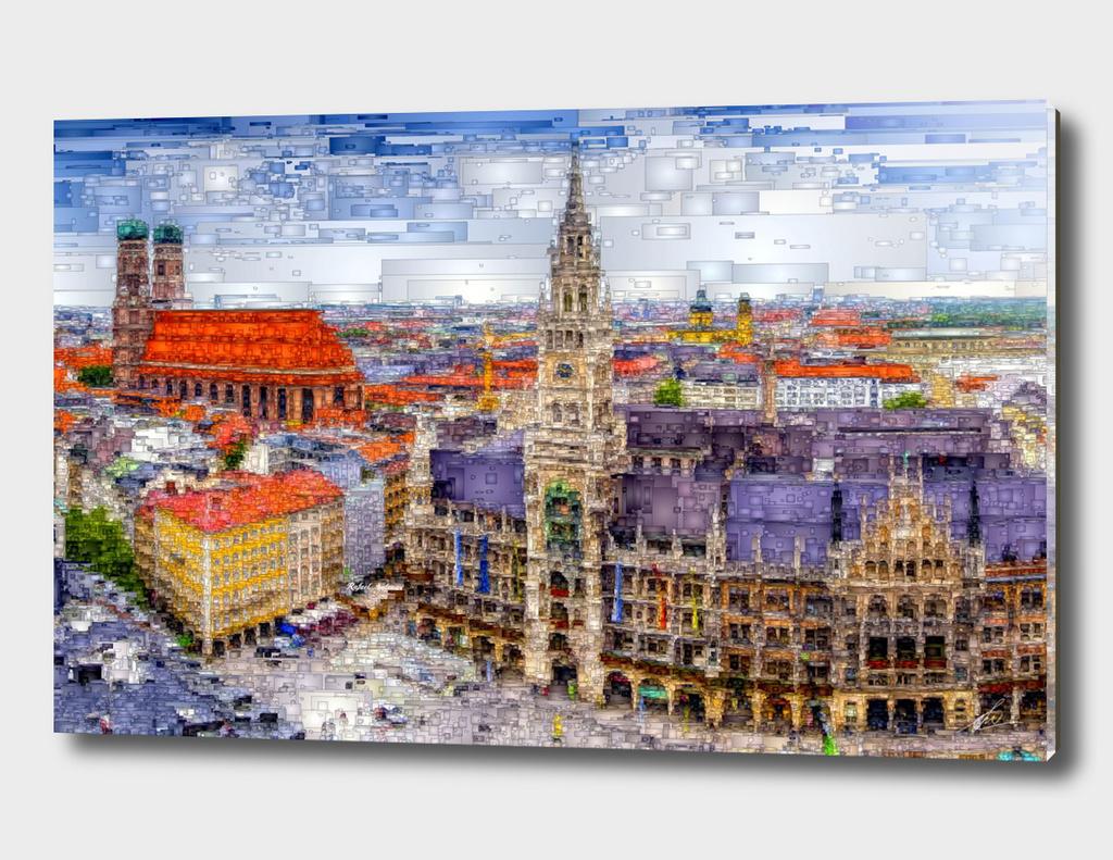 Munich Cityscape, Germany