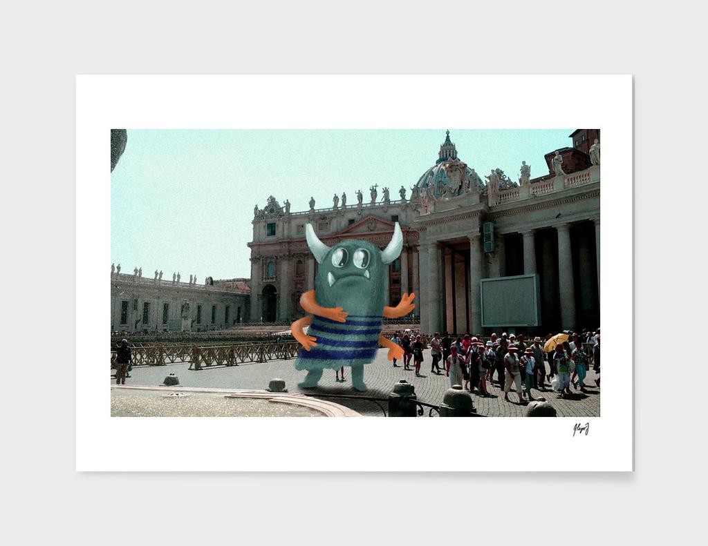 Monster in the Vaticane