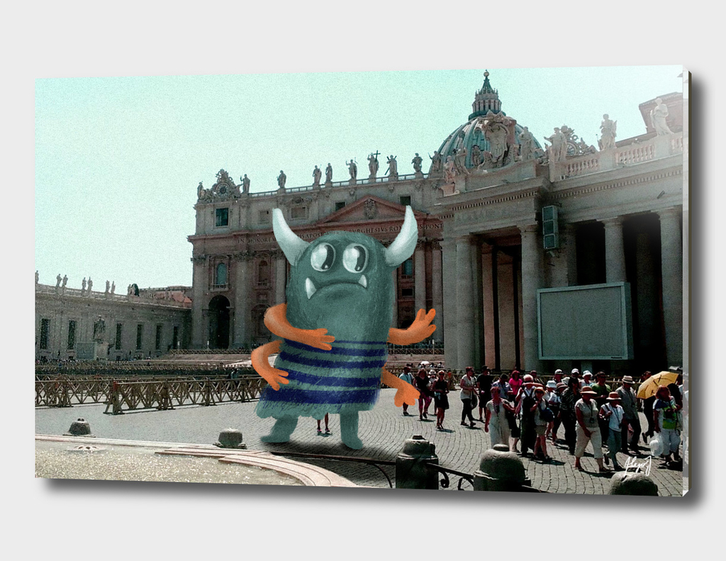 Monster in the Vaticane