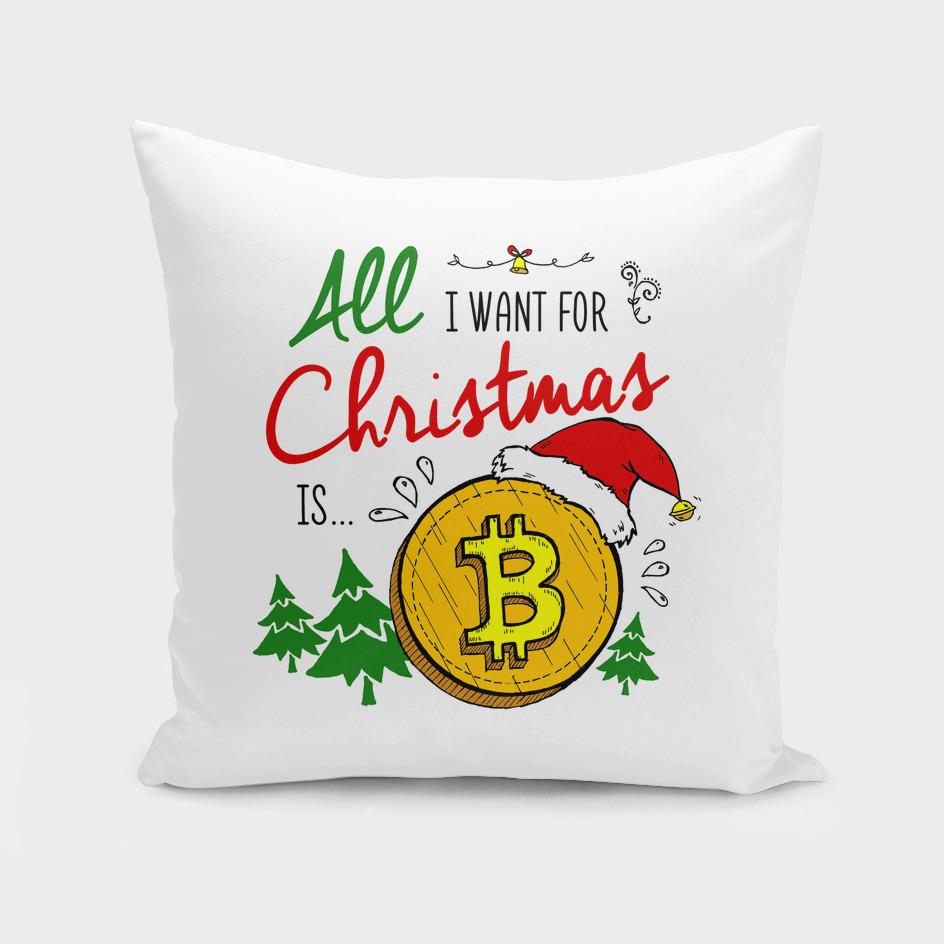 Bitcoin Christmas Print
