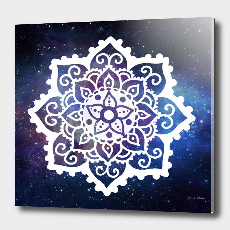 Mandala on Galaxy