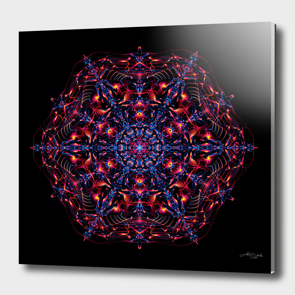 Abstract Mandala IX