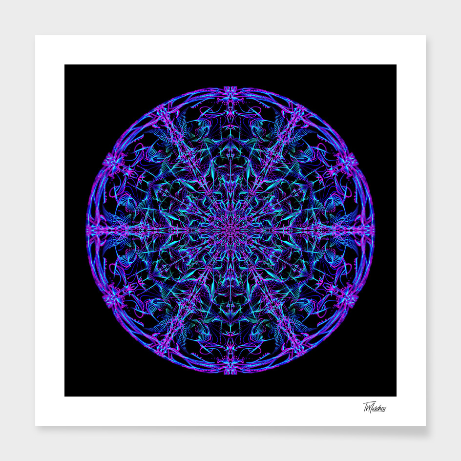 Abstract Mandala VII