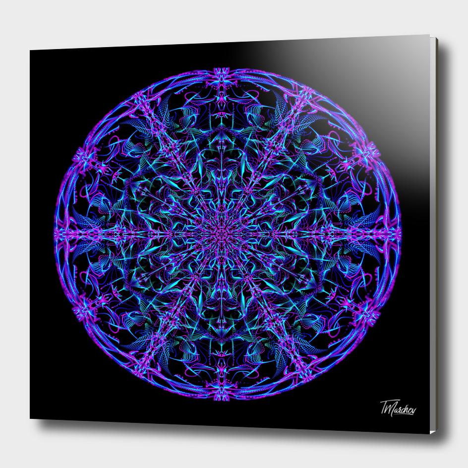 Abstract Mandala VII