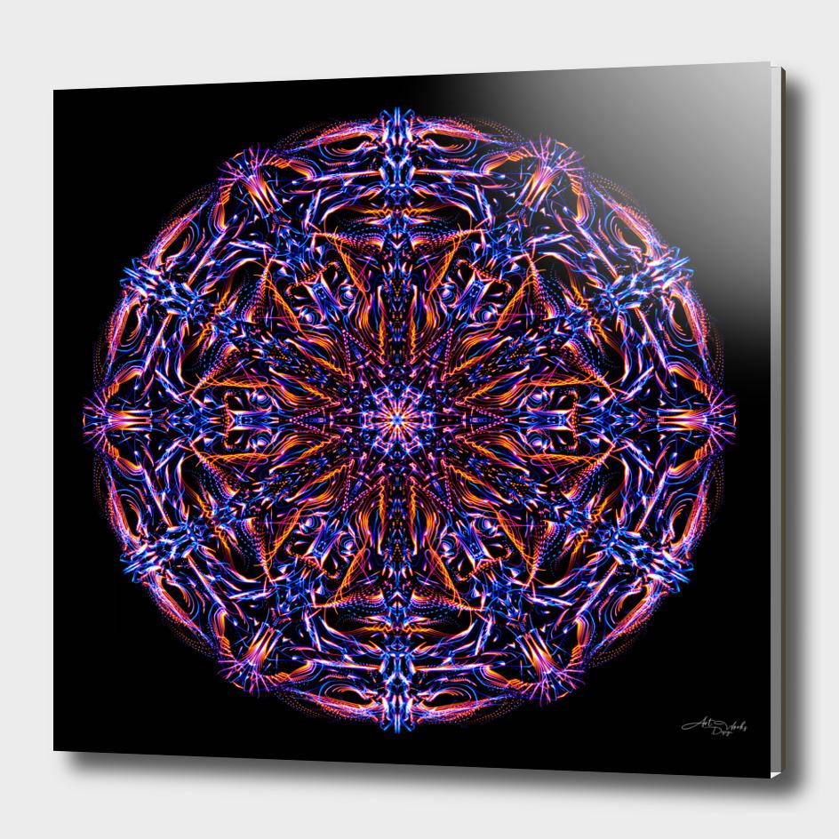 Abstract Mandala VIII