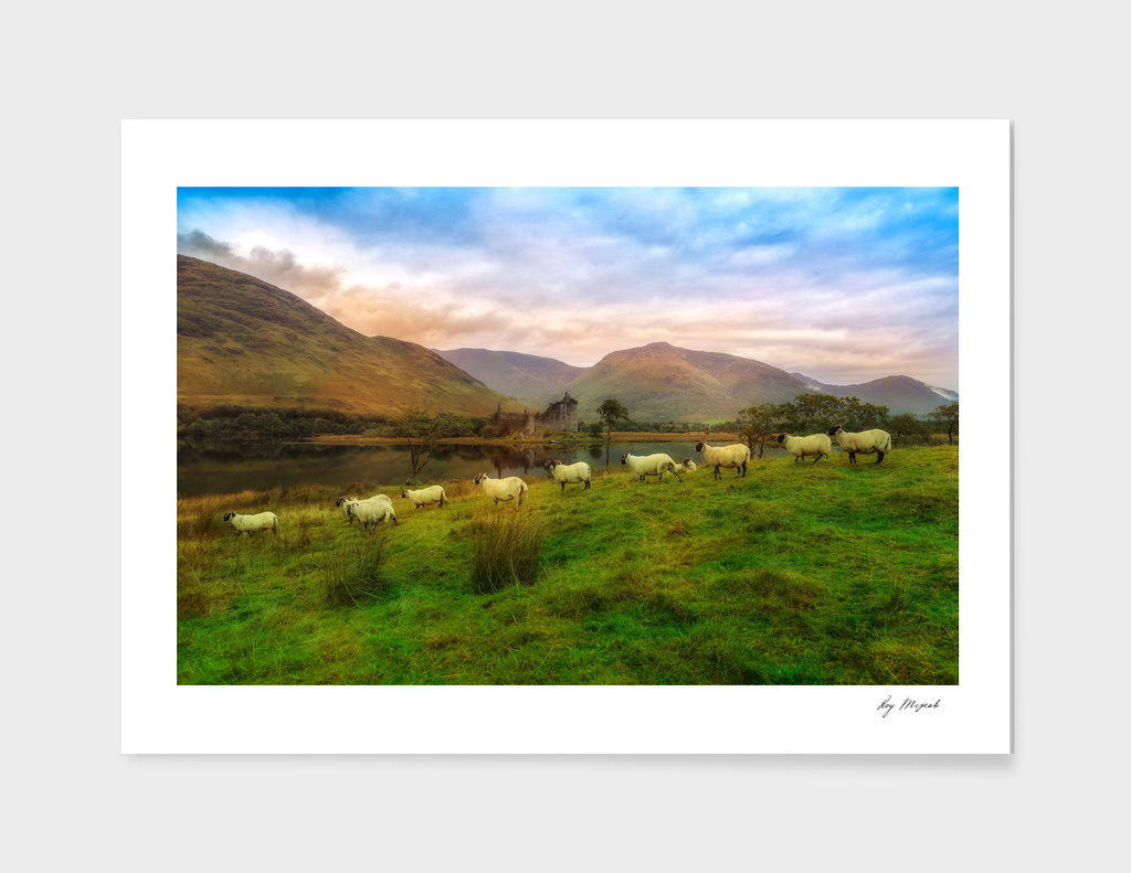 Autumn at Kilchurn