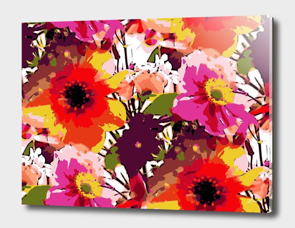 Pop-Art Flower Posy