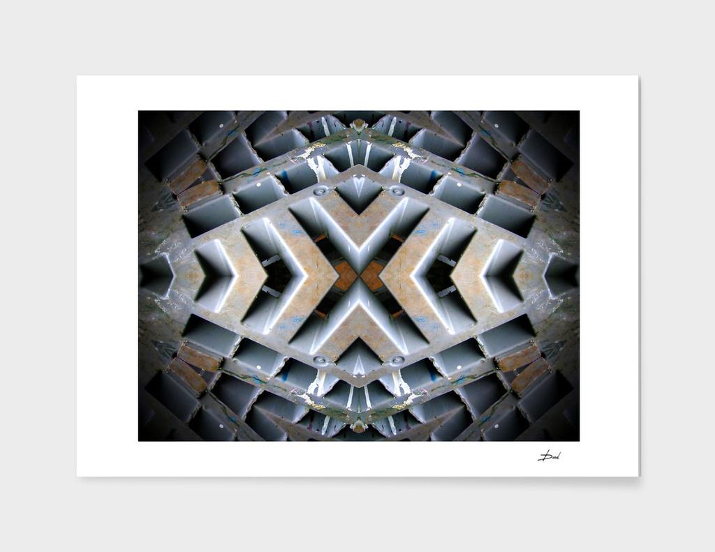 Kaleidoscopic Grid