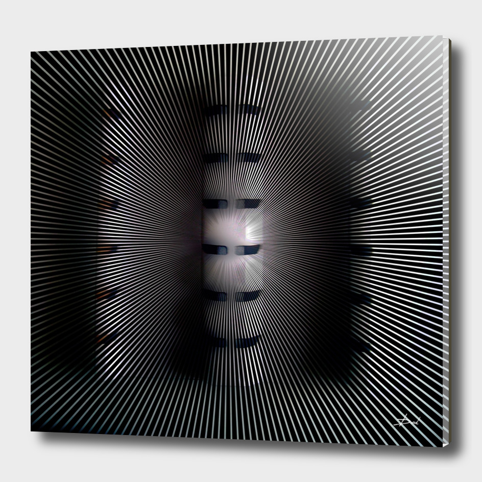 Black Panel Relief