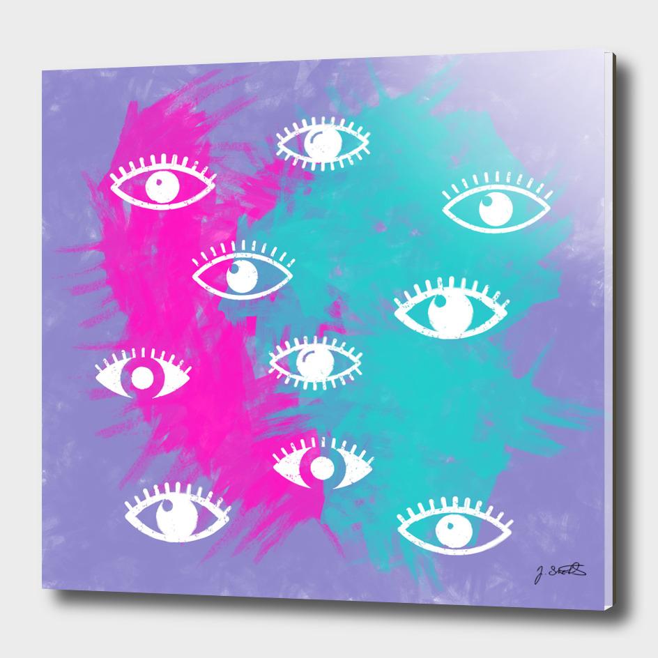 Eyes, the look