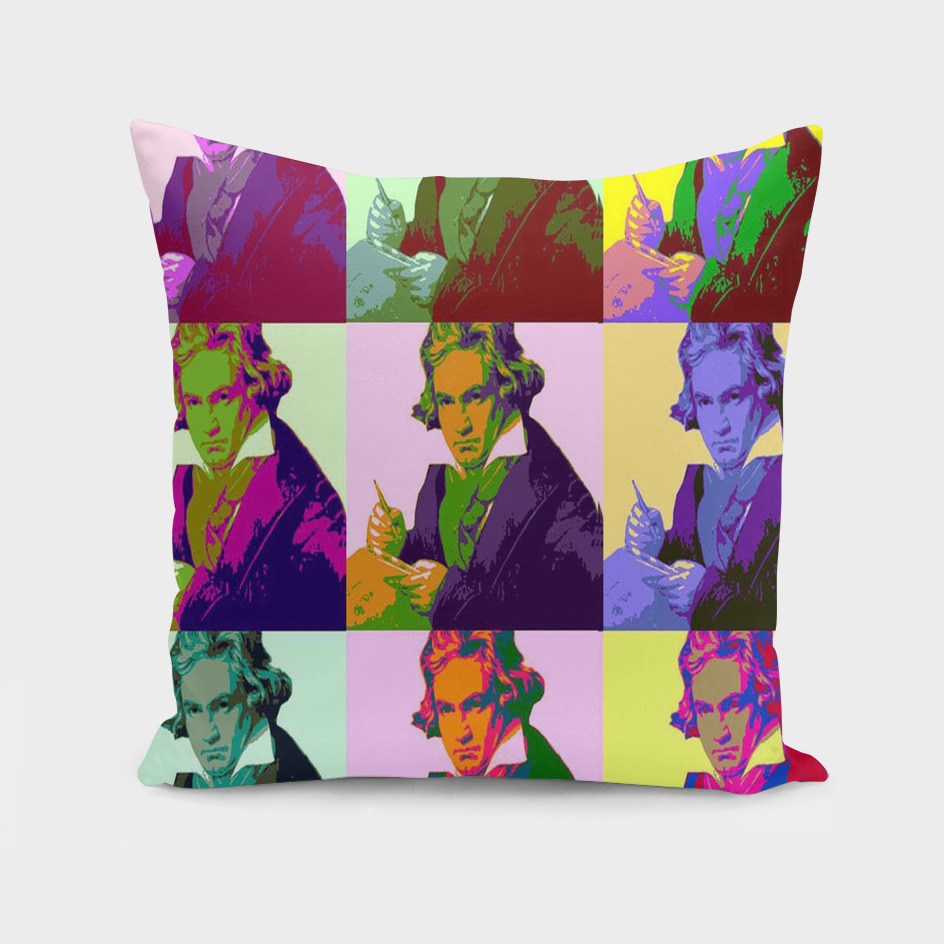 Ludwig Van Beethoven Pop Art