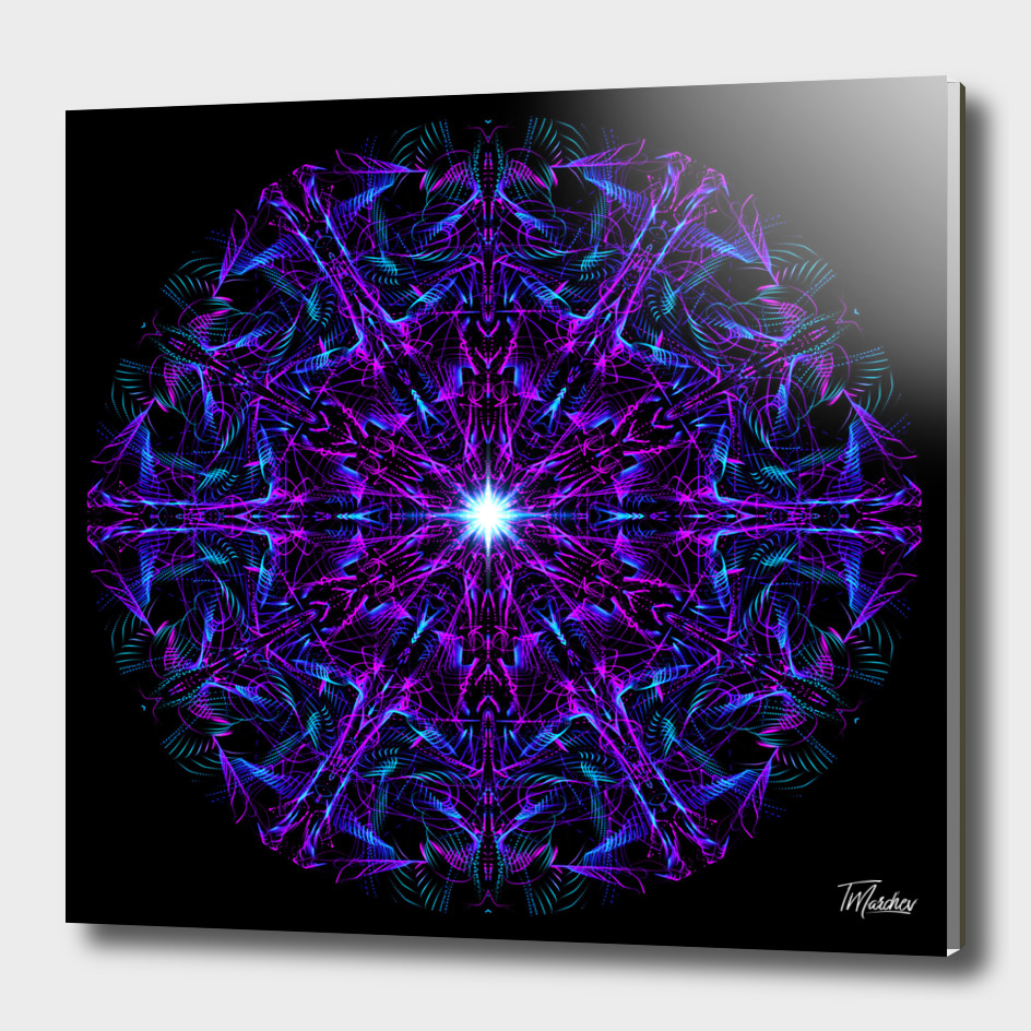 Abstract Mandala VI