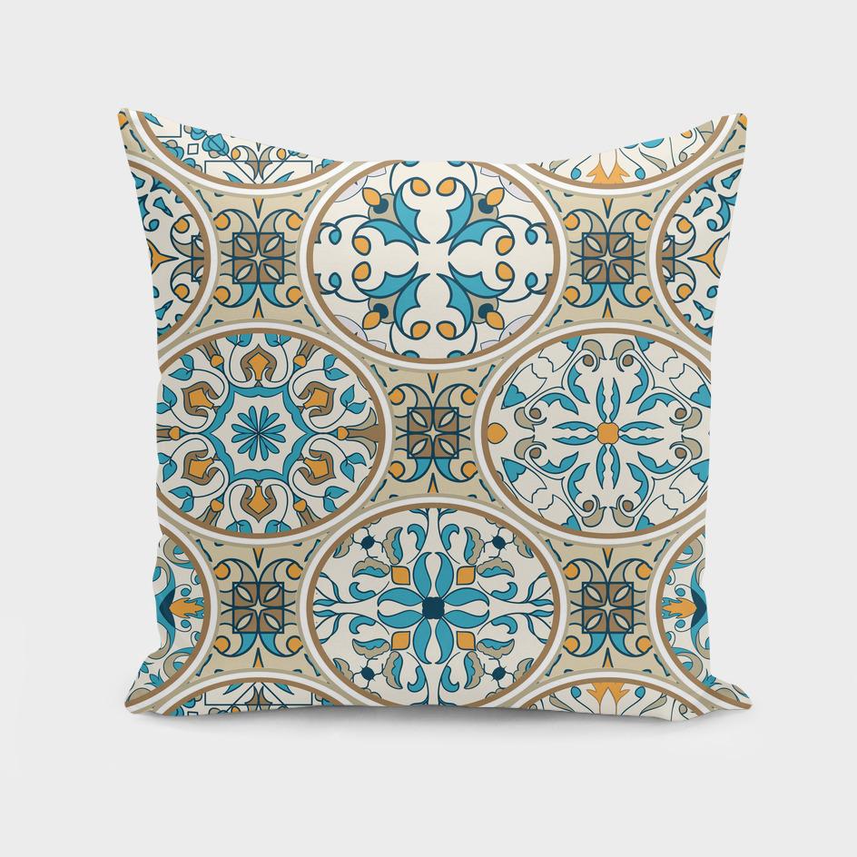 Mosaic eastern ornament