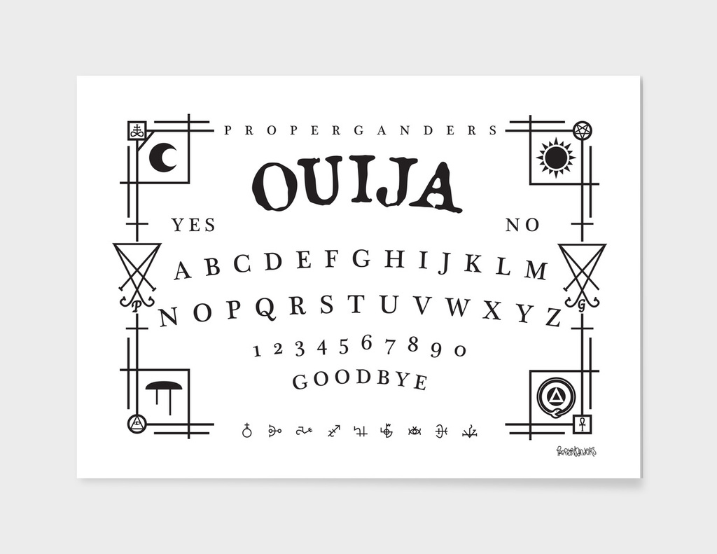 Ouija Board (Black)