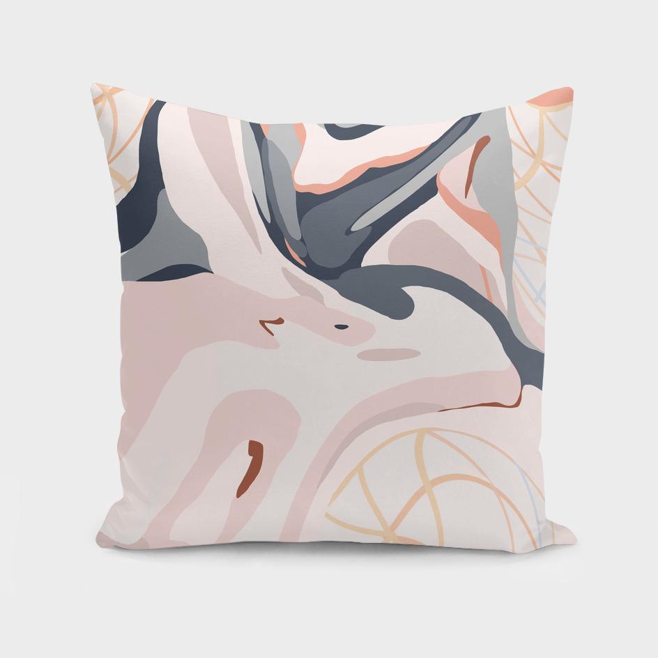 Elegant Zen Marbled Effect Design