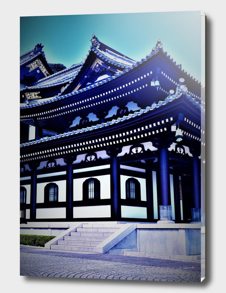 Temple of Hasedera in Kamakura, Japan
