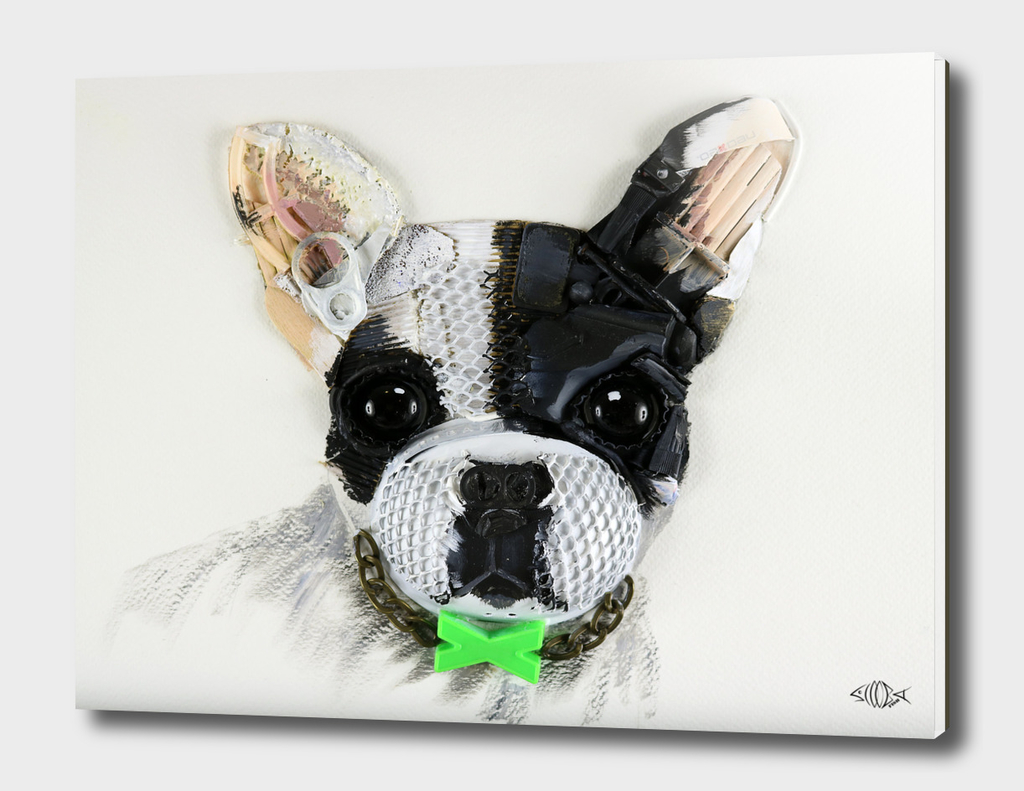 3D French Bulldog