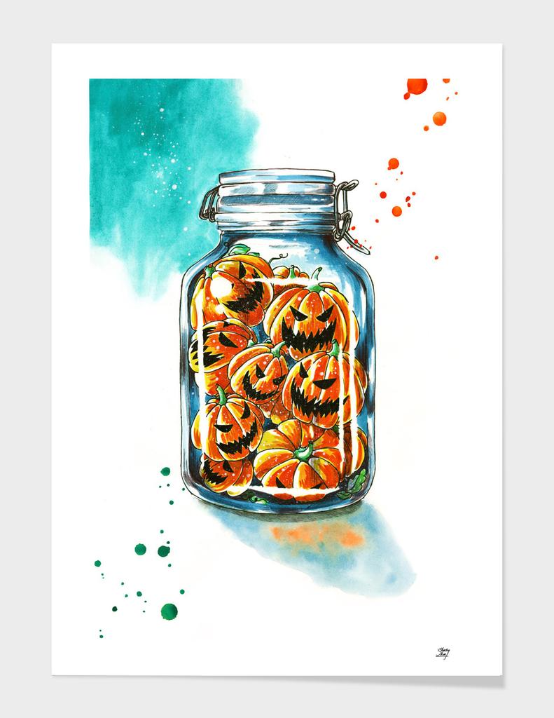 pickled pumpkins