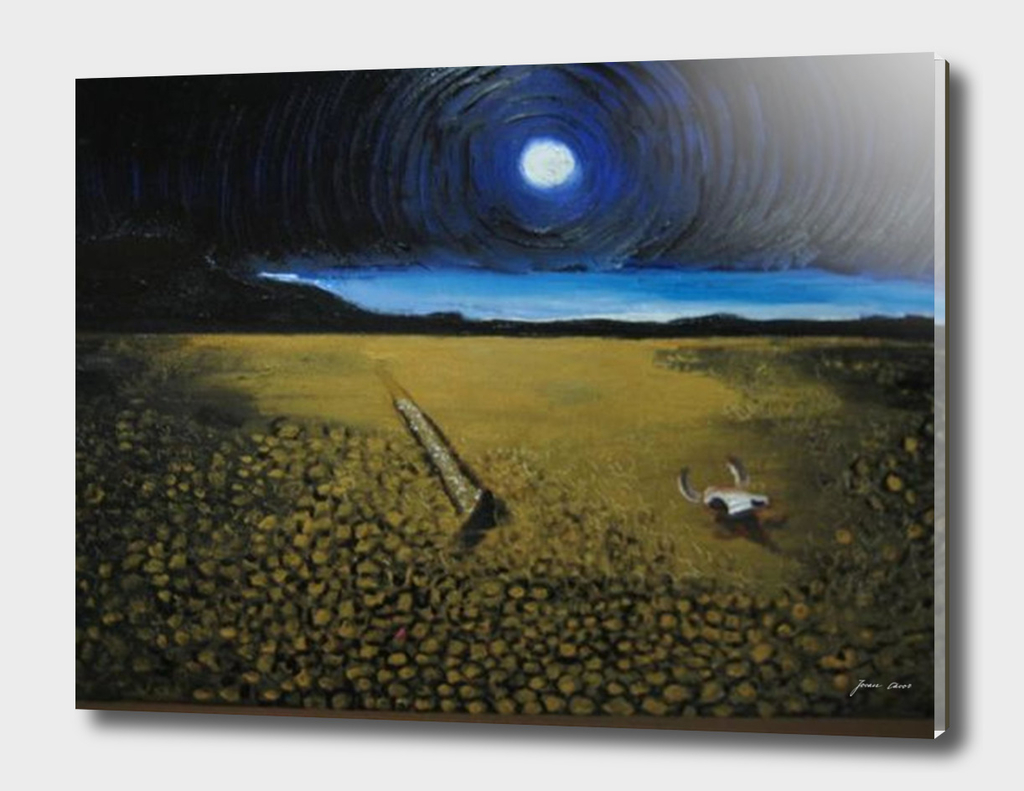 Night at Desert