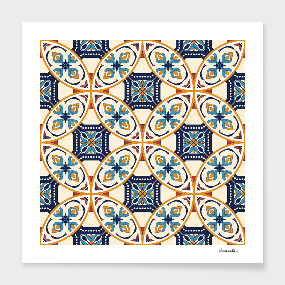 Eastern moroccan ornament