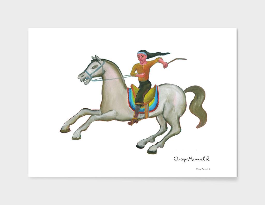 Gaucho a caballo 8