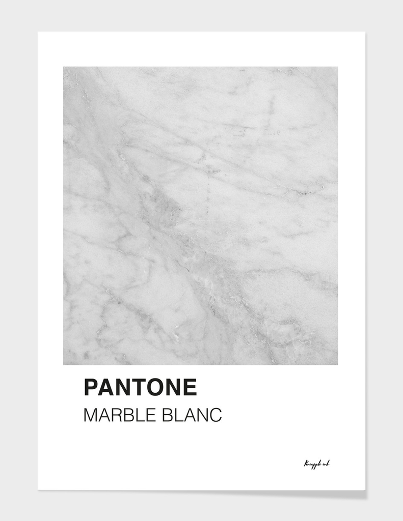 Pantone Marble Blanc